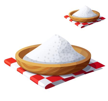 Salt isolated on white background on Detailed Vector Icon Illustration