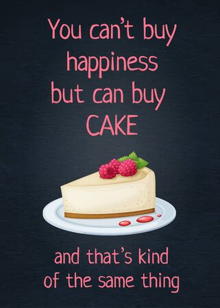Food quote inspiring phrase text