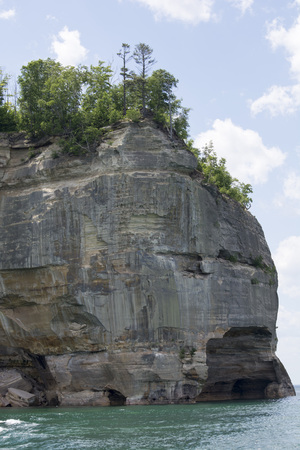 Pictured Rocks - Grand Portal Point Close Up