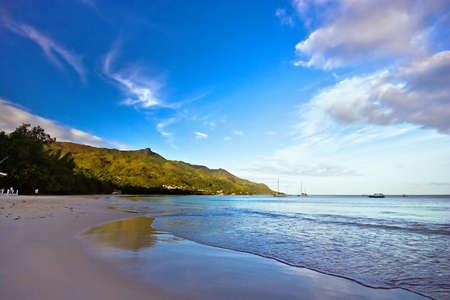 sunrise on seychelles Stock Photo - 2443658