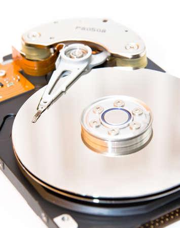 internals: Internals of a harddisk HDD