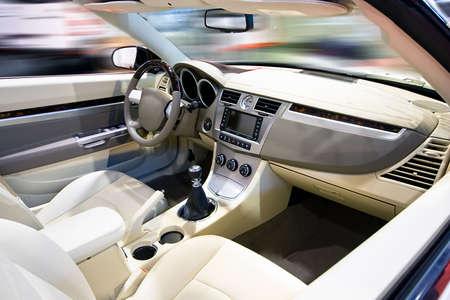 Wnętrze samochodu Zdjęcie Seryjne