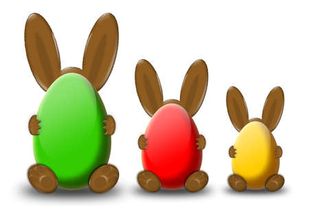 easter time, easter bunny Stock Photo - 2767698