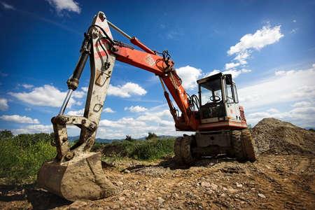 bulldozer in action photo