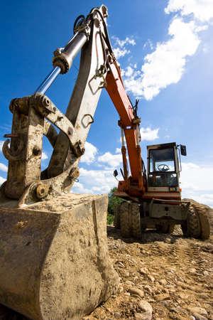 bulldozer in action Banco de Imagens - 2825124
