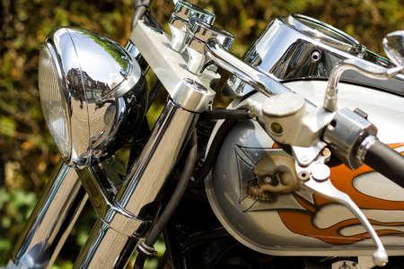 przepych motocykla