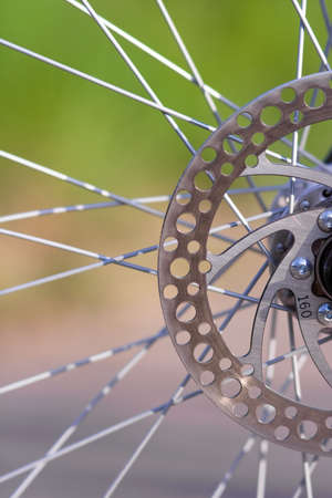 bike wheel Banco de Imagens