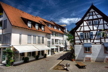 old very nice city at Germany photo