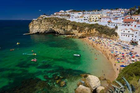 Algarve rock - coast in Portugal Banco de Imagens - 3947858