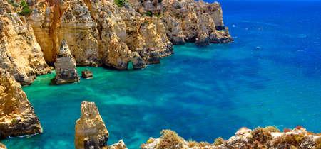 Algarve, part of Portugal, travel target, verry nice Banco de Imagens