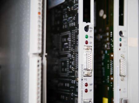 PLC: Programmable Logic Controller Banco de Imagens - 5117795