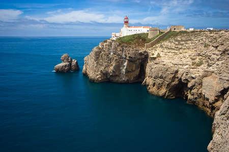 the end of the world, cap at Algarve, Portugal Banco de Imagens