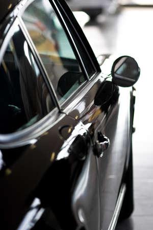 photo af current modern automobile in nice color