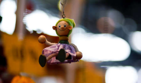 Photo of wooden toy for baby Banco de Imagens