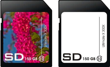 gigabytes: Memory card.