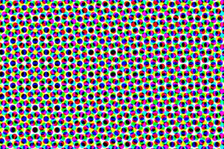 Black polka dots colorful background  photo
