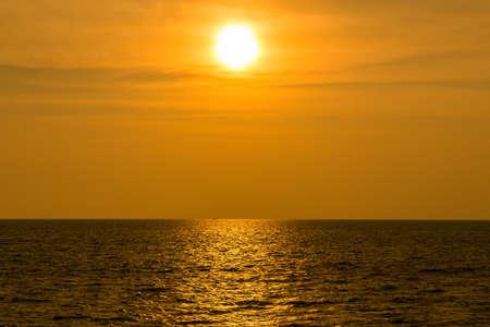 Ocean sunsets   photo