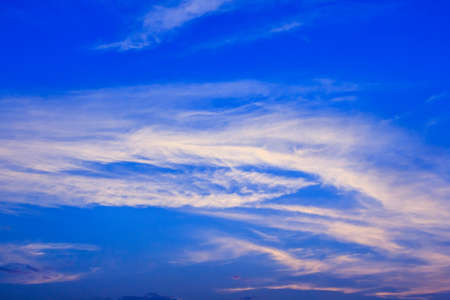 sea scape: Clouds and sky