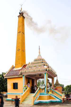 pyre: Cremation pyre Thailand