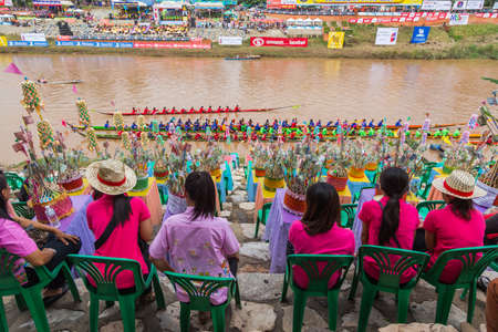 traditional festivals: Traditional festivals   Boat race  every year 21 to 22 September, Phitsanulok Thailand Editorial
