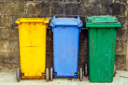 trash bins photo