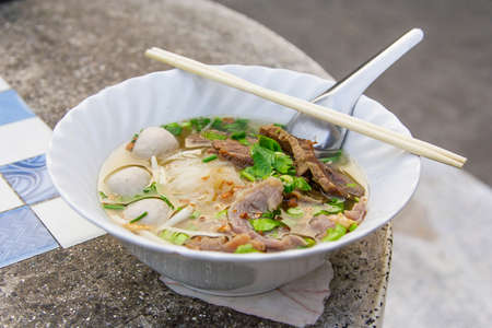 Thailand style noodles photo
