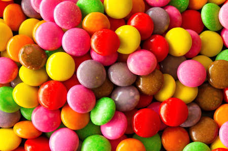 jimmies: Background of colorful sprinkles,  for cake decoration or ice cream topping