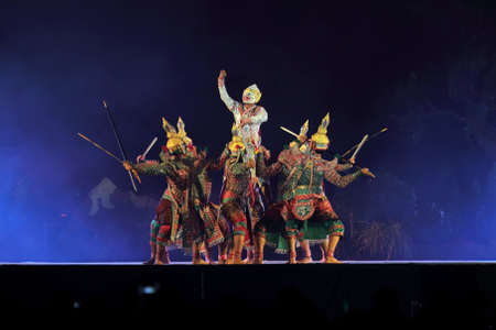 pantomime performances in Thailand