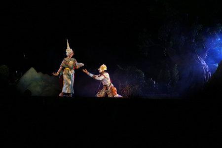 pantomima: actuaciones de pantomima en Tailandia
