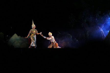 pantomime: pantomime performances in Thailand