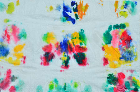 overflow: Colorful stained paper,Colorful stained tissues