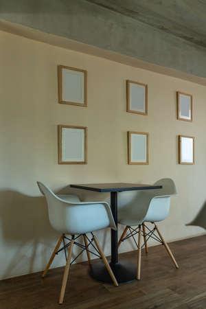Coffee shop modern.