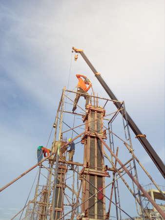 Rebuilding, Construction worker.
