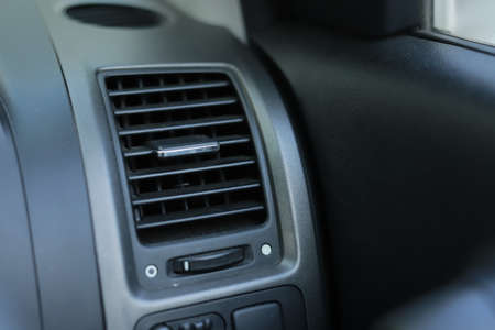 Air flow pane of a car Air conditioning system.