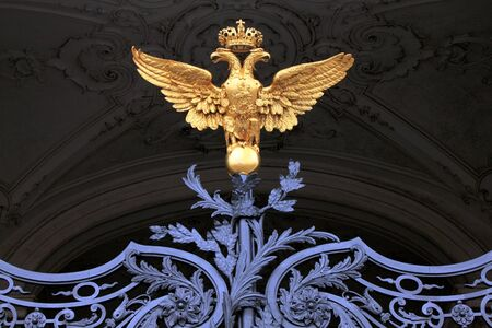 Russian imperial eagle, Saint Petersburg Stock Photo - 13092747