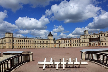 Residence of Russian Tsars in the suburbs of St  Petersburg in Gatchina photo