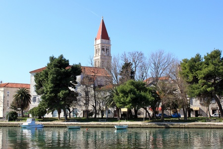 The Cathedral of St. Lawrence in Trogir Stock Photo - 13497594