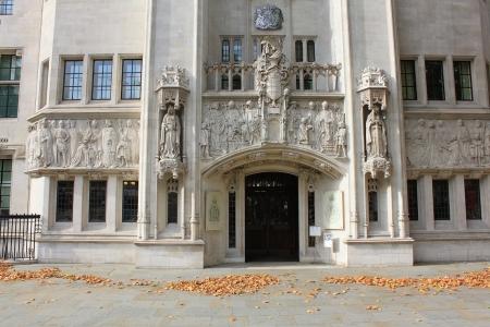 ordenanza: Londres - CIRCA 10 2011 Middlesex Guildhall edificio del Comité Judicial del Consejo Privado, el Comité Judicial del Consejo Privado JCPC es uno de los más altos tribunales en el Reino Unido