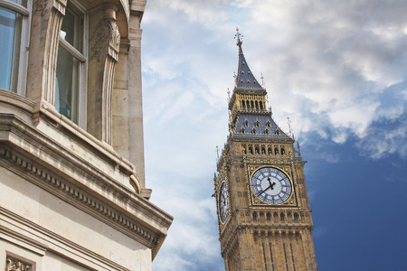 chiming: The Elizabeth Tower. The tower holds the largest four-faced chiming clock in the world and is the third-tallest free-standing clock tower. Editorial