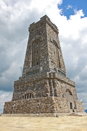 generals: Monument of Liberty on Shipka pass in Bulgaria