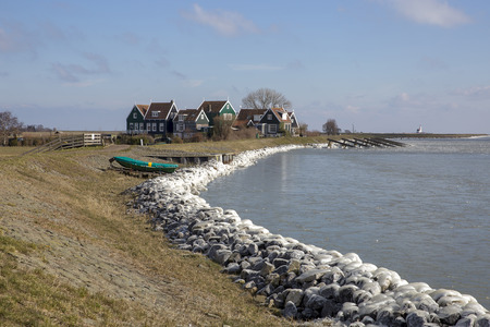 Marken in winter Stockfoto