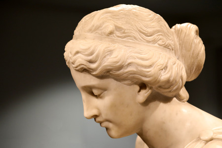 Statue of ancient Greek woman