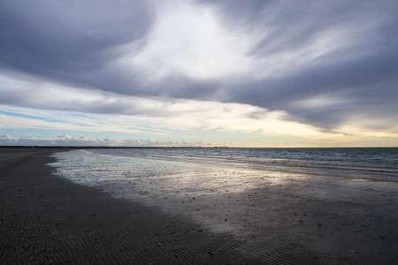 Ijmuiden beach in the Netherlands