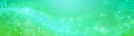 Green abstract background with smooth, soft