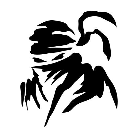 Ninja Pictogram Logo