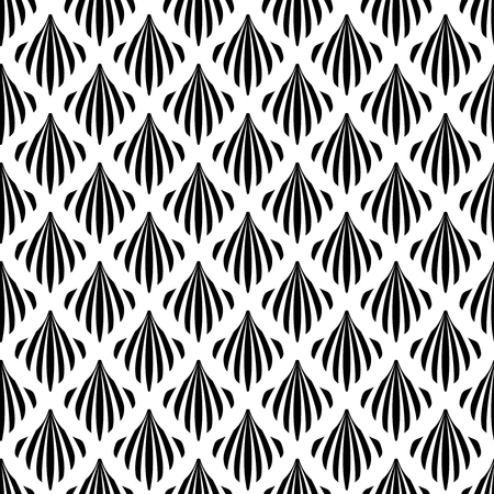 Art Deco pattern is known for its precise and clear lines, geometric shapes and decoration � these patterns are implemented on surface or attached to a structure. ... This later period of the style is called Streamline Moderne and its also characterized by rich colors, bold geometric shapes and lavish ornamentation