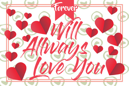 Vector Valentine's day cards templates. Hand drawn February 14 gift tags, labels or posters collection. Vintage love lettering background. - Vector