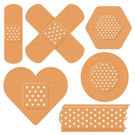 antiseptic: Adhesive plaster