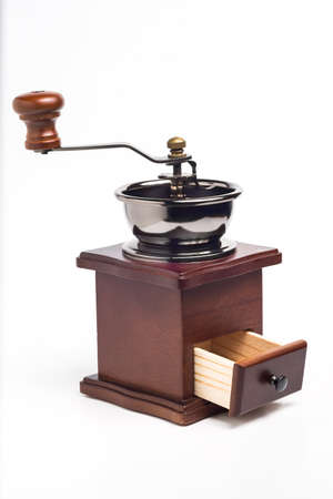 Manual coffee grinder photo