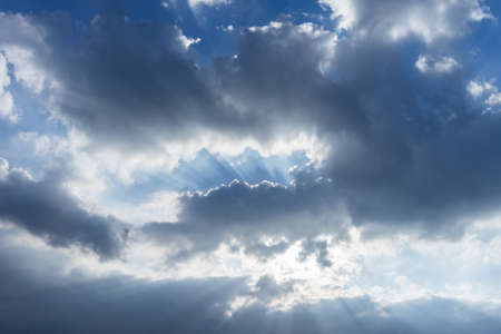 sunlgiht: Sky against sunlgiht.